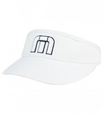 Travis Mathew Men's Everly Golf Visor - White - CH182KW540Z