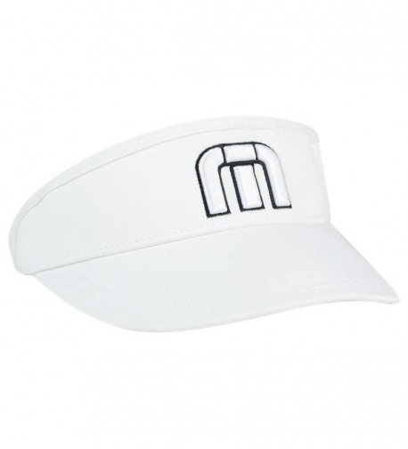 6c5656a34 Travis Mathew Men's Everly Golf Visor White CH182KW540Z
