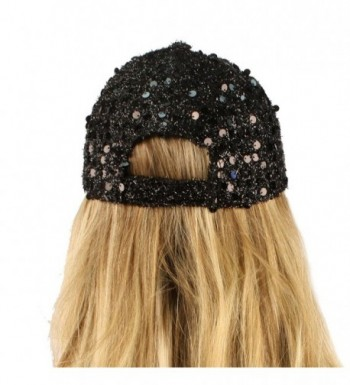 Recital Shimmer Baseball Hat Adjustable in Women's Baseball Caps