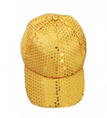 Hatop Sequin Adjustable Outdoor Baseball