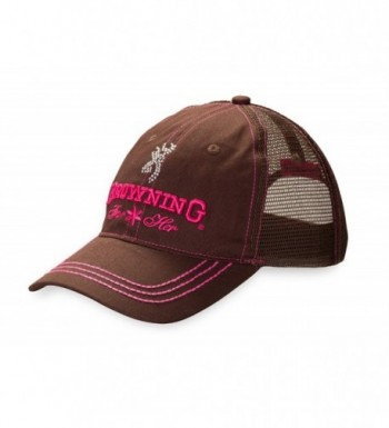 Browning Jeweled Cap - Mesh Brown - CX11LC9GDY7