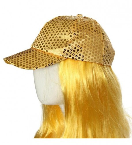 Hatop Sequin Adjustable Outdoor Baseball in Women's Baseball Caps