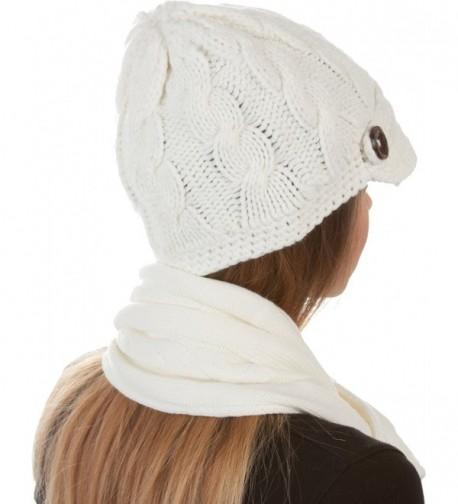 EHATES870VB Womens 2 piece Knitted Beanie