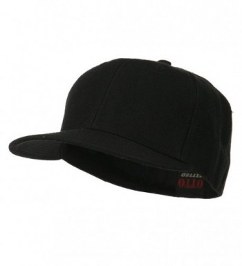 Pro Style Wool Fitted Cap - Black - CR11LUGA6XP