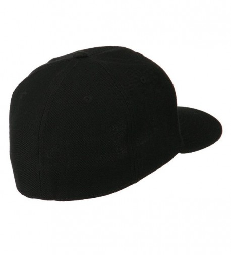 Pro Style Wool Fitted Cap in Men's Baseball Caps