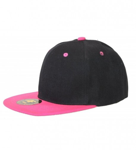 New AF Two Tone Snapback - Black / Hot Pink - CP11B5O2S6L