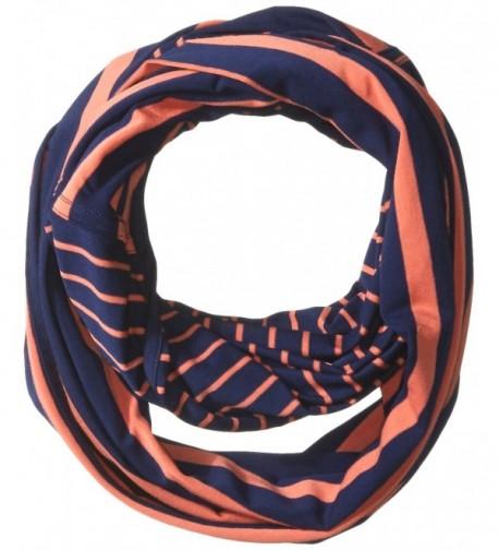 LOLE Creation Scarf - Mirtillo Blue Stripe - C212D6QYC6J