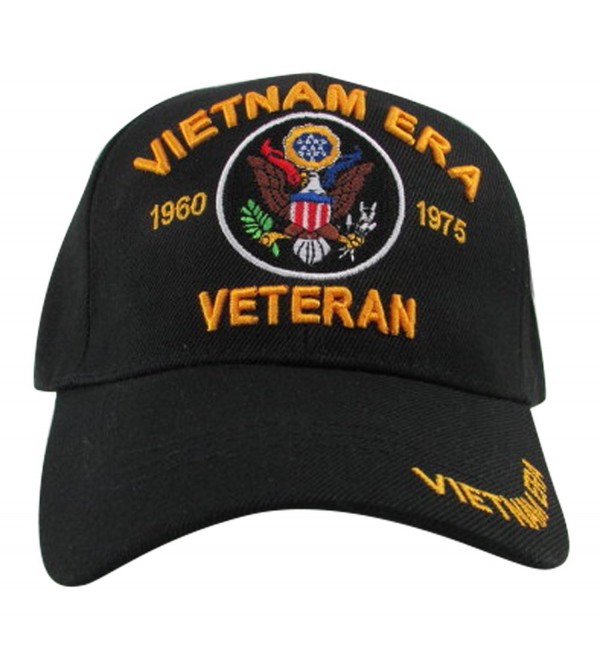 U.S. Warriors New Vietnam Era Veteran 1960-1975- US Warriors- Black- One Size Fits Most - CQ11Z2RLMW3