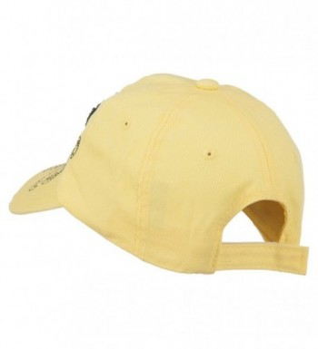 Baseball Cap Jeweled Butterfly Yellow in Women's Baseball Caps