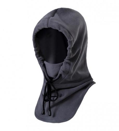 Dollshouse Winter Warm Tactical Heavyweight Balaclava Outdoor Sports Face Mask - Grey - C612LW68RYX