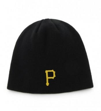 47 Brand Cuffless Beanie Hat - MLB Knit Skull Toque Cap - Pittsburgh Pirates - C811YH4TKO9