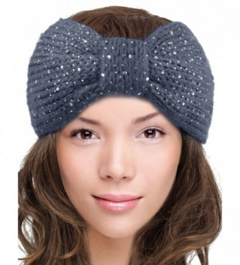 Dahlia Womens Wide Knitted Headband in Women's Skullies & Beanies
