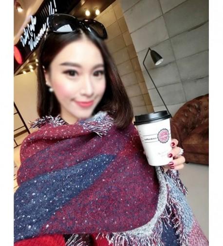Adela Boutique Fashion Cashmere Checkered in Fashion Scarves