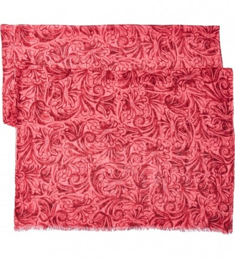 Patricia Nash Womens Scarf Pink