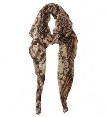 Herebuy Designer Scarves Fashionable Elephant in Fashion Scarves