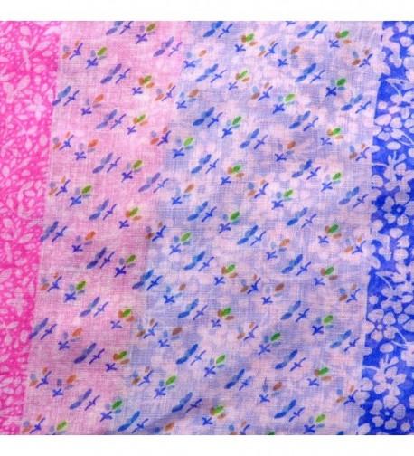 Dasein Floral Patchwork Pattern Infinity