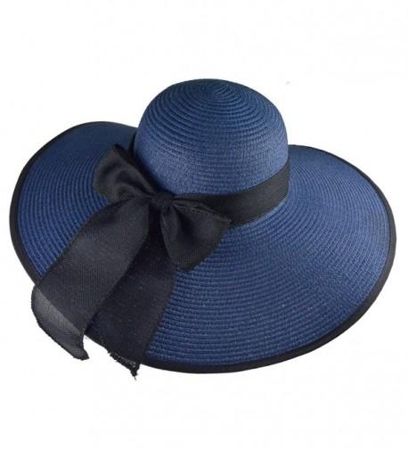 DRESHOW Floppy Beach Women Packable in Women's Sun Hats