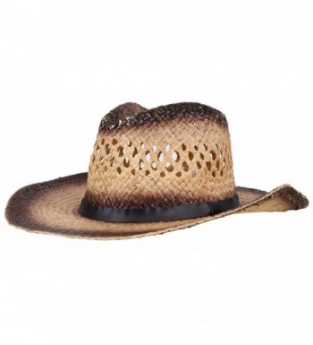 Simplicity Western Women Cowboy Chestnut_Belt in Women's Cowboy Hats