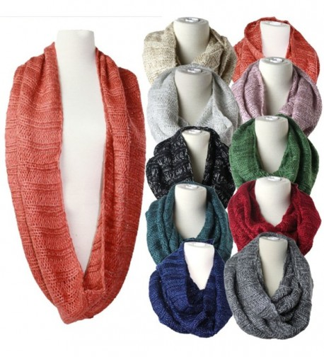 Premium Womens Infinity 2Circle Shawl Warm