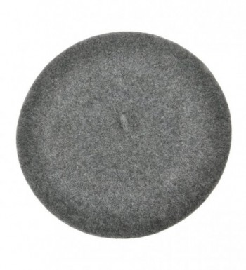 Beret Classic Solid French Melange
