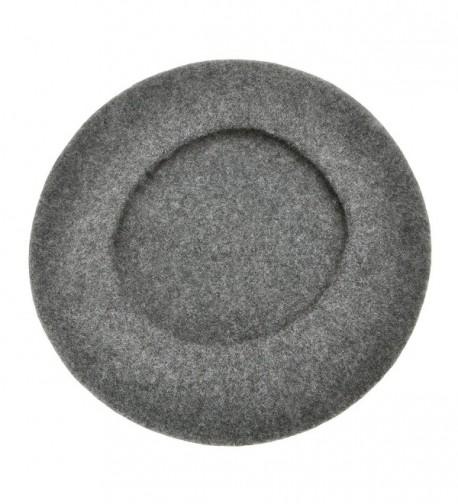 Beret Classic Solid French Melange in Women's Bucket Hats