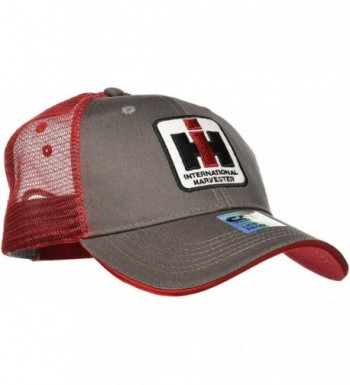 Case IH Trucker Hat Cap in Charcoal and Red - C8110RU1P45