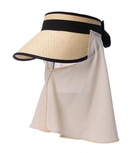 Siggi Straw Packable Summer Detachable
