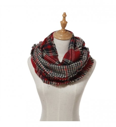 Lucky Leaf Lattice Infinity Patterns in Fashion Scarves