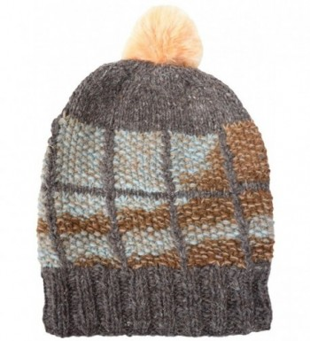 Little Kathmandu Woolen Knitted Multicoloured in Women's Skullies & Beanies