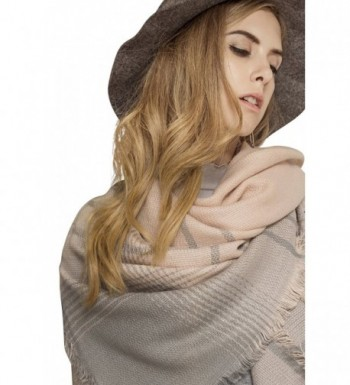 Metrust Square Checked Scarves Blanket - Grid 011-1 - CN186W8XO29