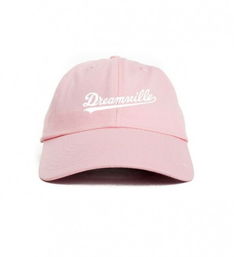 Dreamville J Cole Pink Unstructured Hat - CU12N4YSPKR
