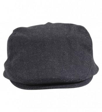 Dorfman Pacific Wool Herringbone Black