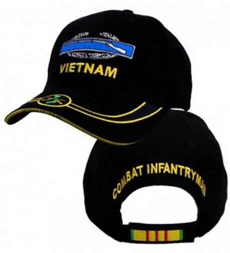 CIB Combat Infantry Badge Embroidered Vietnam Ball Cap - CI11G32N4PT