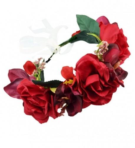 Vivivalue Christmas Headband Headpiece Handmade - 25re - C712KVH7Z0V