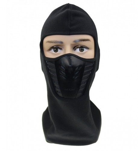 ZZLAY Balaclava Face Mask-Windproof Ski hat for Skiing Cap Unisex - black - C5185T6WZ3Y