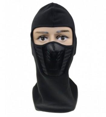 ZZLAY Balaclava Face Mask-Windproof Ski hat for Skiing Cap Unisex - black - C5185T6WZ3Y