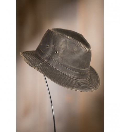 Kenya Weathered Cotton Safari Hat in Men's Sun Hats