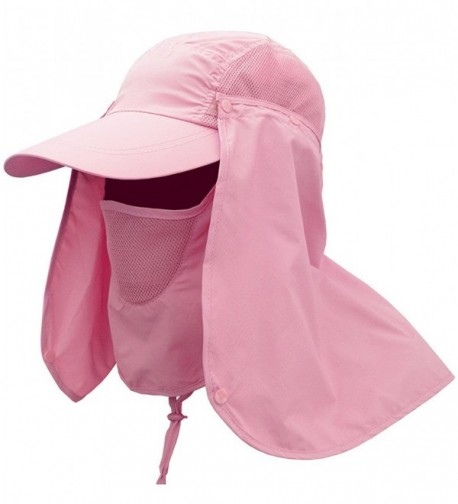 YOYEAH Fishing Quick drying Protection Removable - Pink - CY184HUYWU8
