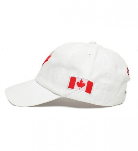 Canada Canadian Flag Embroidered One Size
