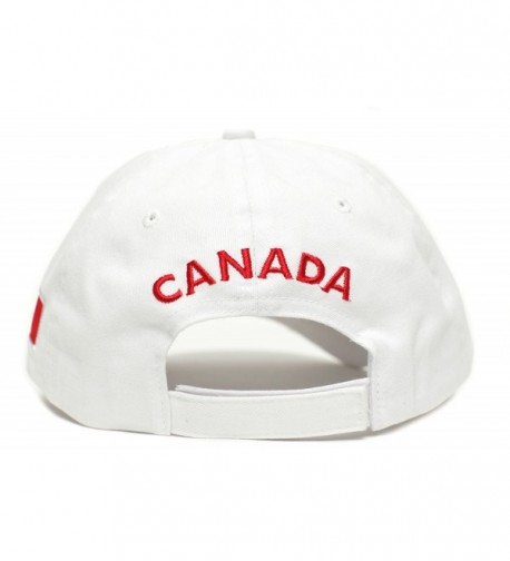 Canada Canadian Flag Embroidered One Size in Women's Baseball Caps