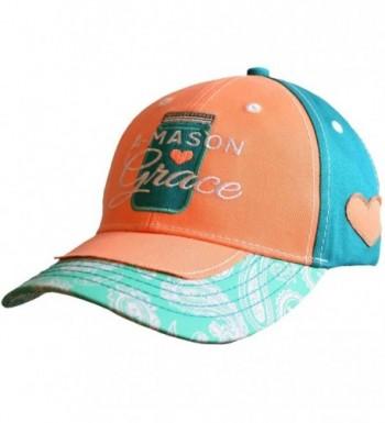 A Mason Grace Cherished Girl Christian Hat - C017Y4Y46RE