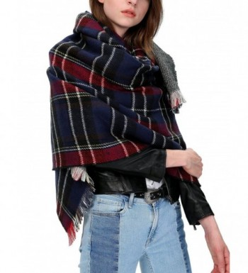 Urban CoCo Womens Blanket Checked