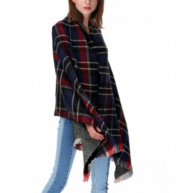Urban CoCo Womens Blanket Checked in Cold Weather Scarves & Wraps