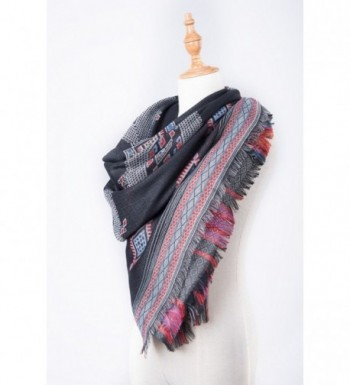 Amymode Womens Elegant western inspired pattern in Fashion Scarves