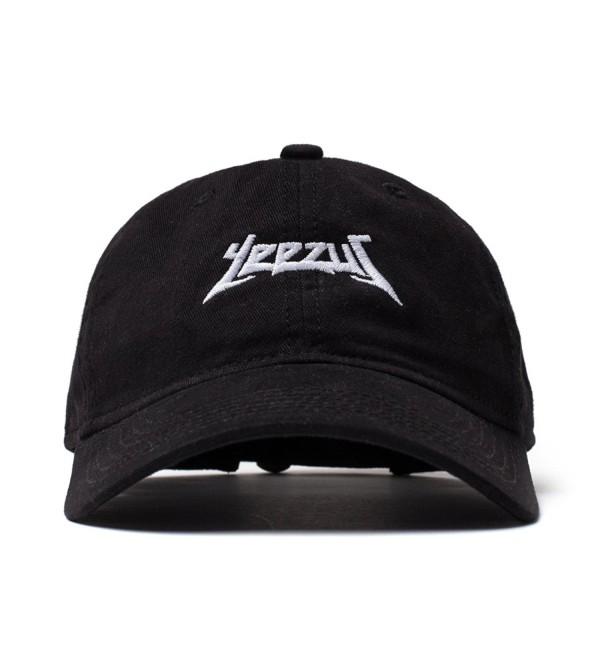 AA Apparel Yeezus Tour Glastonbury Dad Hat Kanye West Yeezy - Black - CN12OC2ZODI