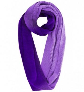 Purple Ombre Texting Gloves Scarf