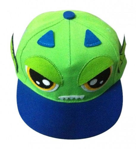 SBParts Baseball Embroidery Cartoon Snapback - Green - CP11WF6ASF5