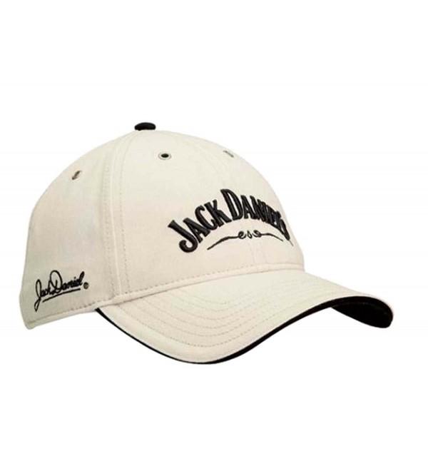 Jack Daniels Men's Daniel's Signature Logo Cap Stone One Size (JD77-77) - CA116PL8SLX