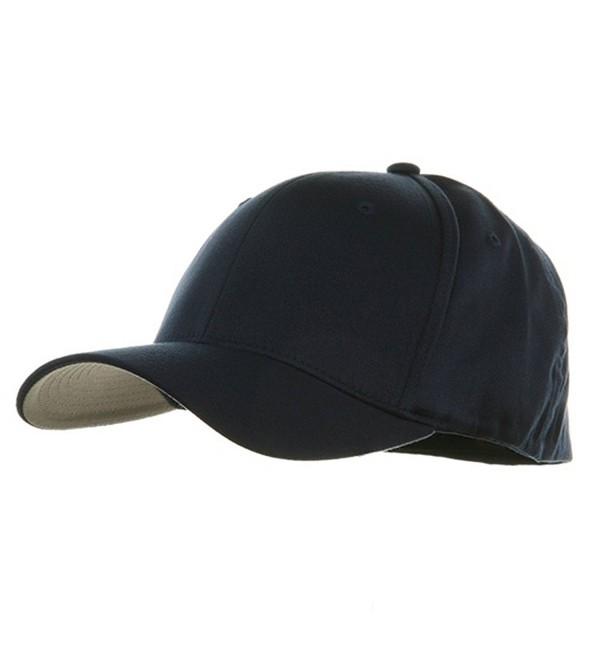 Extra Big Size Flexfit Caps - Navy - C2111743TUX