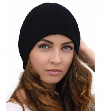 Winter Hats For Women Who Are Looking For Something Warm- Stylish And Soft - Black - C2185QWHIIA